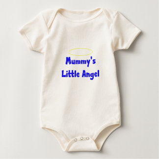 Mummys little angel Boy Baby Bodysuit