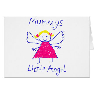 Mummy's Little Angel Cards