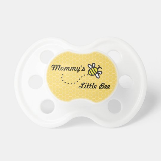 """Mummy's Little Bee"", Cute Bumble Bee Pacifier"