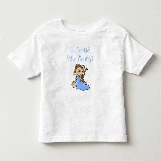 Mummy's Little Boy Monkey Toddler T-Shirt