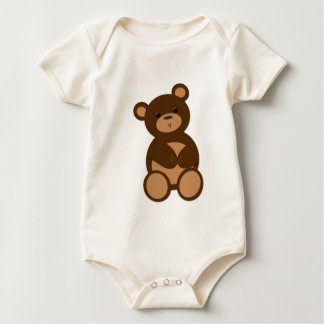 Mummy's Little Bwear Baby Bodysuit