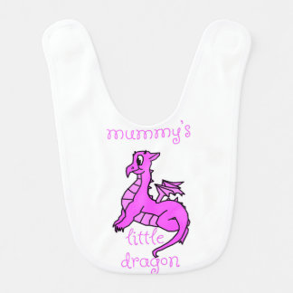 Mummy's Little Dragon Bib