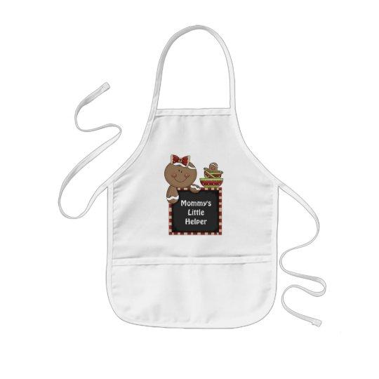 Mummy's Little Helper Gingerbread apron