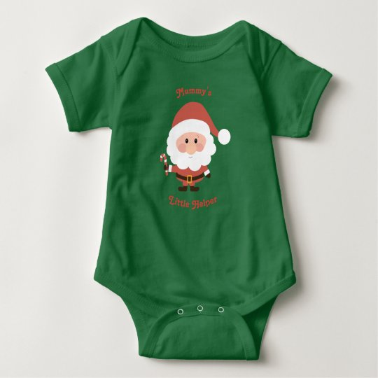 Mummy's Little Helper Vest Baby Bodysuit
