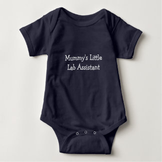 Mummy's Little Lab Assistant Baby Bodysuit