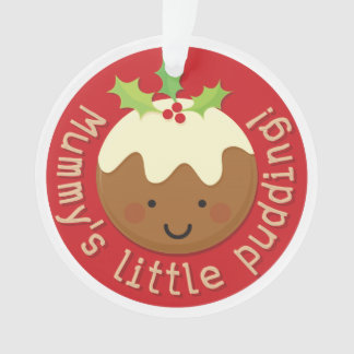 Mummy's Little Pudding Ornament