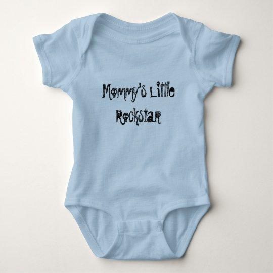 Mummy's Little Rockstar Baby Bodysuit