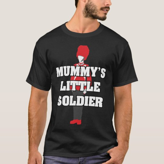 Mummy's Little Soldier T-Shirt