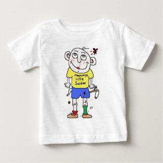 mummys little soldier tee shirt