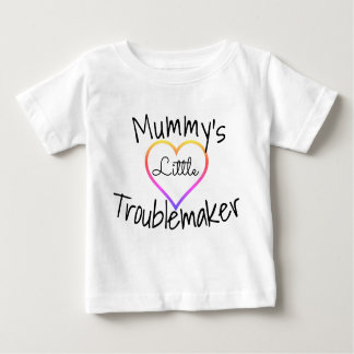 Mummy's Little Troublemaker (Baby T-shirt) Baby T-Shirt