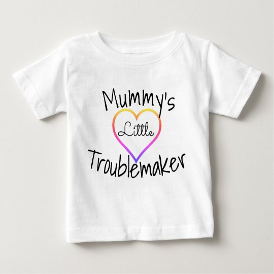 Mummy's Little Troublemaker (Baby T-shirt) Baby T-Shirt