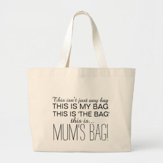 Mum's Bag, Large Shopping Tote for Mum