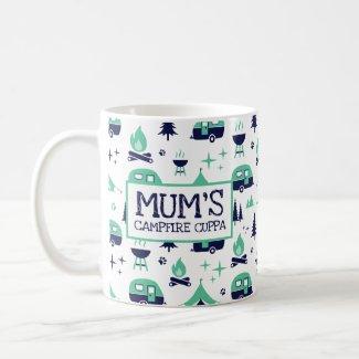 Mum's Campfire Cuppa Coffee Mug