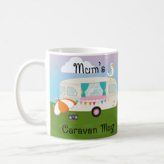 Mum's Caravan White 11 oz Classic White Mug