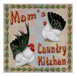 Mum's Country Kitchen Poster