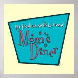 Mum's Diner: Breastfeeding Posters