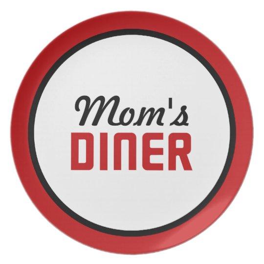 Mum's Diner Plate