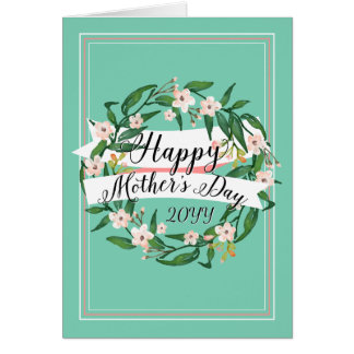 Mum's Favourite Colour Mother's Day Card