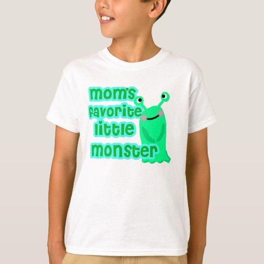 Mum's Favourite Little monster shirt
