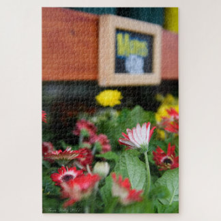 'Mums' flower stand puzzle