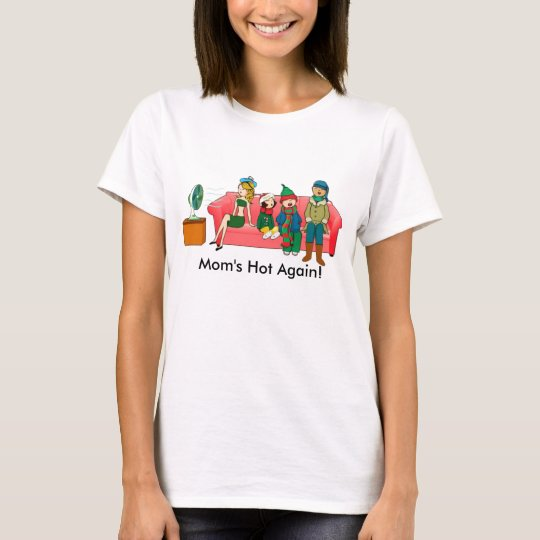 Mum's Hot Again Menopause T-Shirt