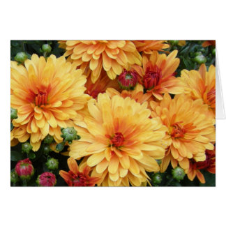 """Mums III"" Stationery Note Card"
