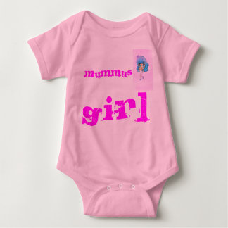Mums Little Girl Baby Grow Cute and Adorable Baby Bodysuit