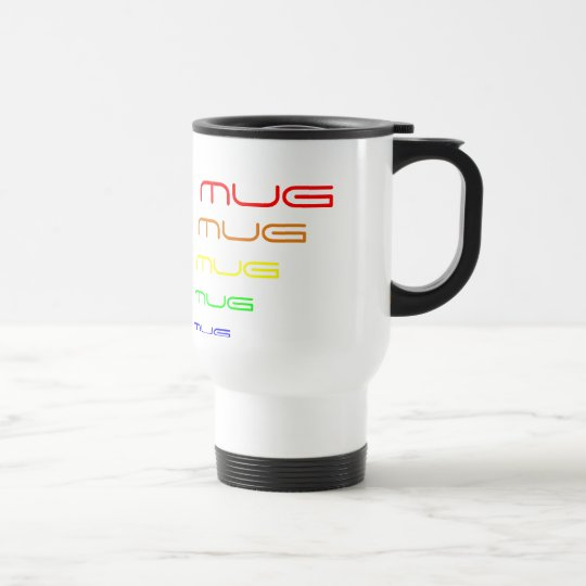 Mum's Mug - Rainbow Colours