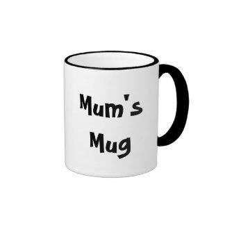 Mum's Mug White Coffee Mug
