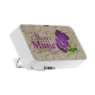 Mum's Music Purple Flower and Music Mini Speaker