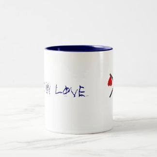 Mum's new mug! Two-Tone coffee mug