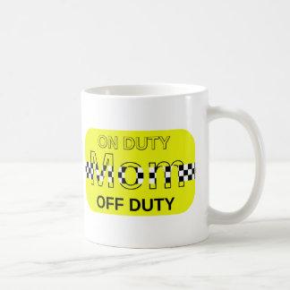 Mum's Taxi Basic White Mug