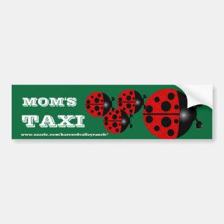 Mum's Taxi Bumper Sticker