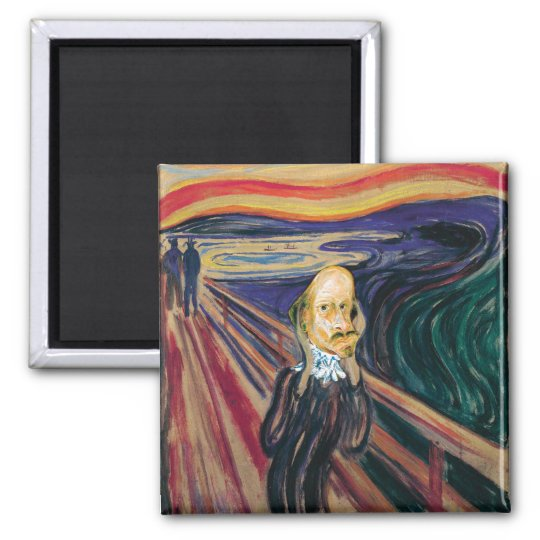 Munch Ado About Shakespeare (magnet) Magnet