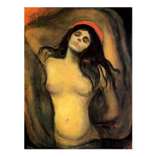 Munch Madonna Postcard
