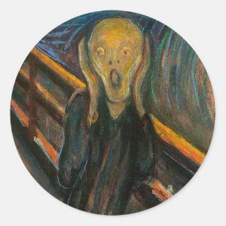 Munch The Scream Stickers