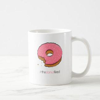 Munched pink donut mug