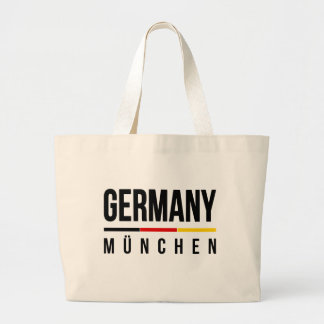 München Germany Large Tote Bag