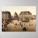 München Karlsplatz (Stachus) Print
