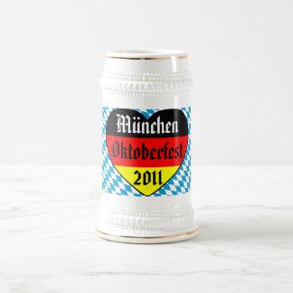 München Oktoberfest 2011 Germany Bierkrug Mug