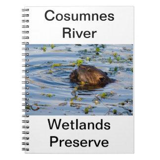 Munching Beaver collection Spiral Notebook