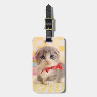 Munchkin Kitten Luggage Tag