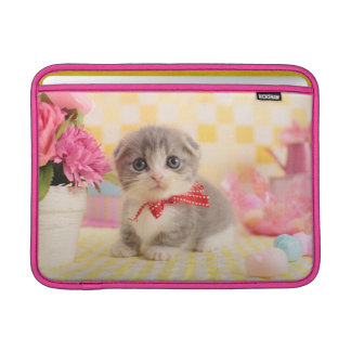 Munchkin Kitten MacBook Air Sleeves
