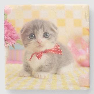 Munchkin Kitten Stone Coaster