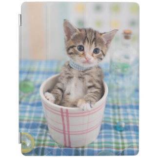 Munchkin Kitten With Pretty Ribbon iPad Smart Cover