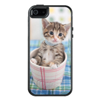 Munchkin Kitten With Pretty Ribbon OtterBox iPhone 5/5s/SE Case