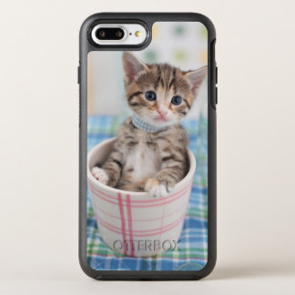 Munchkin Kitten With Pretty Ribbon OtterBox Symmetry iPhone 8 Plus/7 Plus Case