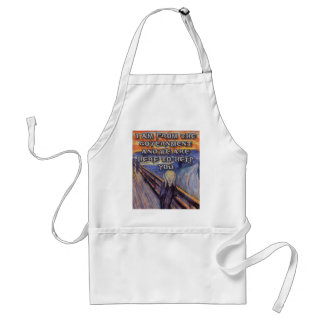 Munch's The Scream:  Government Help! Standard Apron