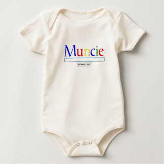 Muncie: I'm Feeling Lucky Men's Baby Bodysuit