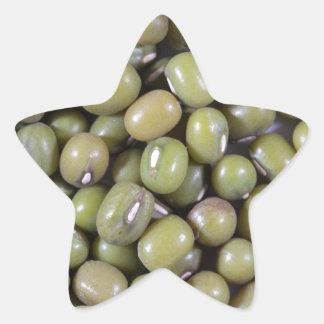 Mung Beans Star Sticker